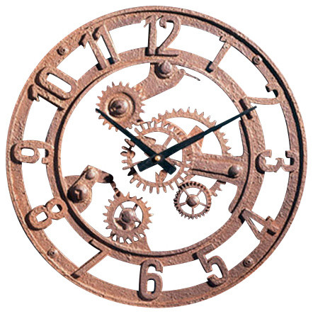 Wall clock industrial wall clocks by factory direct wall decor