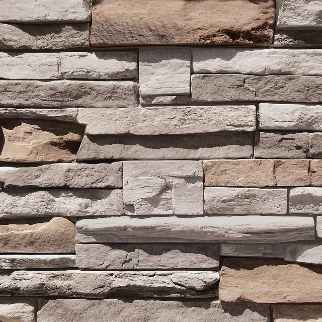 Coronado Quick Stack Stone Siding Color Cape Cod Grey