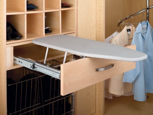 rev a shelf fold out ironing board traditional ironing. Black Bedroom Furniture Sets. Home Design Ideas