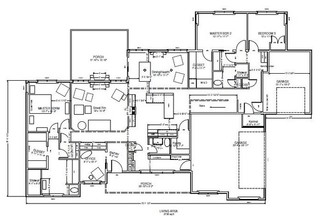 Multi generational house plan for Multi generational homes floor plans