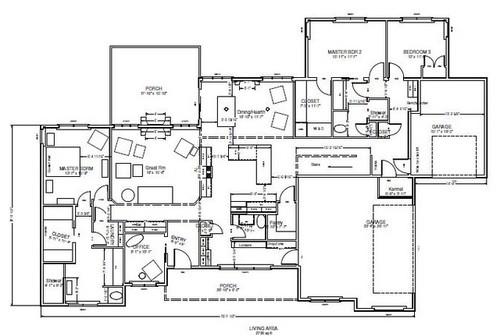 Multi generational house plan