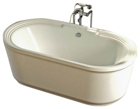 34 x67 atlantis freestanding royale bathtub air for Royal whirlpool baths