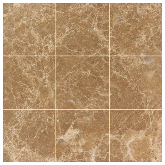 16 Tile And Floor Emperador Marble 12 215 24 Poli Light 4x4 Polished Wall