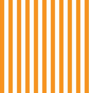 Vibrant Orange Stripe Shelf Paper Drawer Liner - Contemporary - Drawer & Shelf Liners - by Chic ...