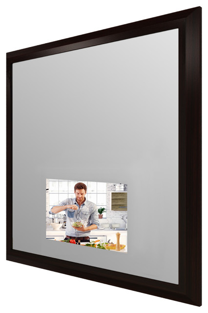 Stanford spectrum mirror with 21 5 inch tv modern home for Abco salon supplies