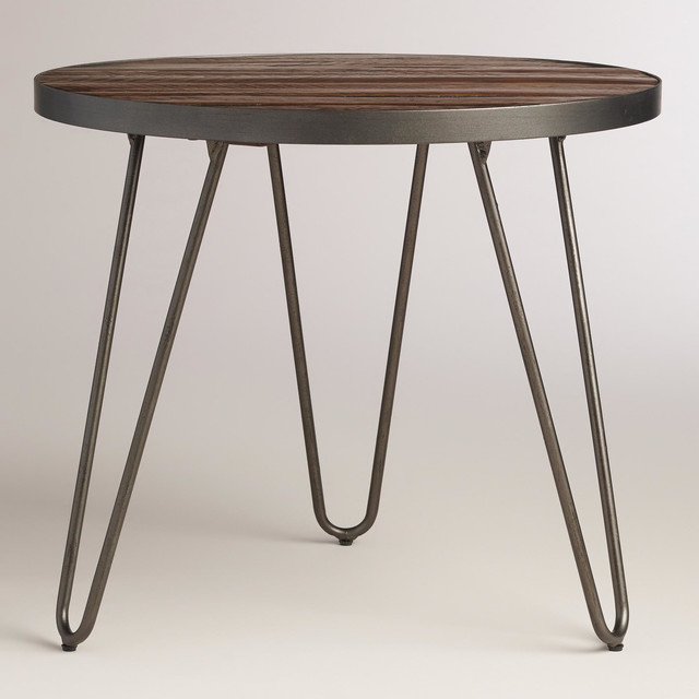 Modern Wood Hairpin End Table Modern Coffee Tables By Cost Plus World Market