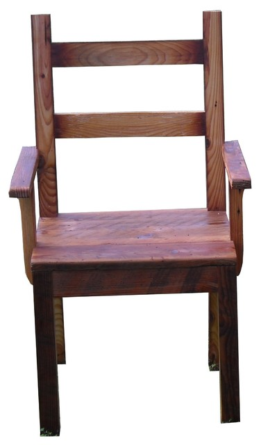 Dining Room Chair With Arms Rustic Dining Chairs By
