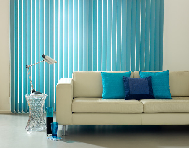Habitat turquoise vertical blind modern vertical Home decorators vertical blinds
