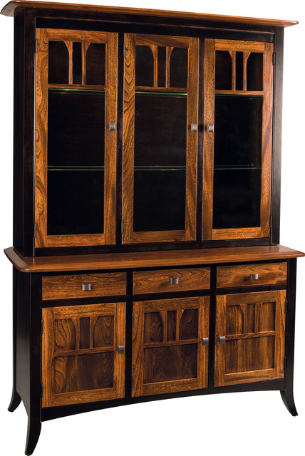 Aragon China Hutch - Contemporary - China Cabinets And Hutches - Other - by Countryside Amish ...