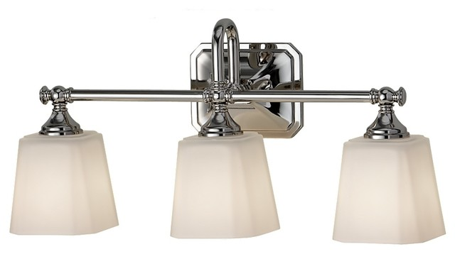 Feiss VS19703-PN Concord 3 Light Polished Nickel Bathroom Wall Sconce - Contemporary - Bathroom ...