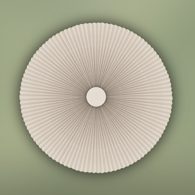 Circular Window Covering Contemporary Cellular Shades