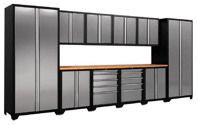 Garage Storage Systems & Accessories: NewAge Products Garage Cabinets Pro - Contemporary ...