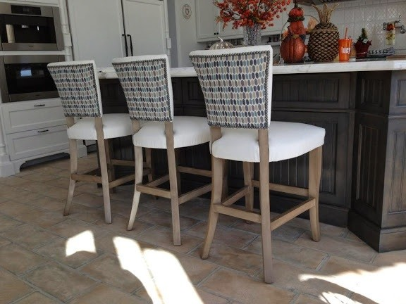 dining chairs barstools and banquettes beach style los angeles