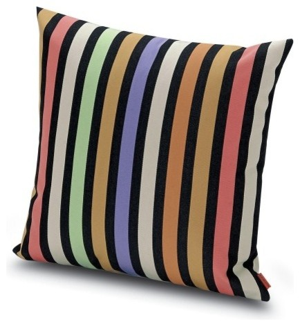 All Modern Outdoor Pillows : Missoni Home Roatan Pillow 16x16 - Modern - Outdoor Cushions And Pillows - by YLiving.com
