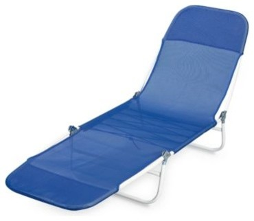 Tri fold chaise contemporary outdoor chaise lounges for Bathroom chaise lounge