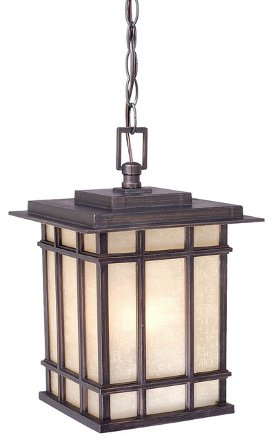 Vaxcel Manor House 9 Outdoor Pendant Asian Outdoor Hanging Lights