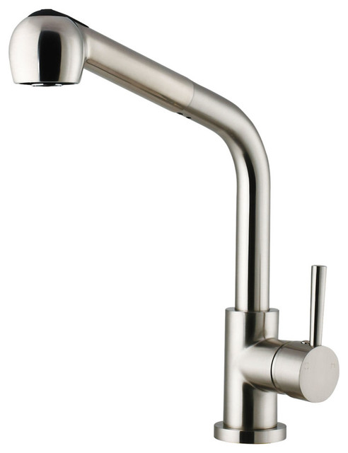 vigo stainless steel pull out spray kitchen faucet