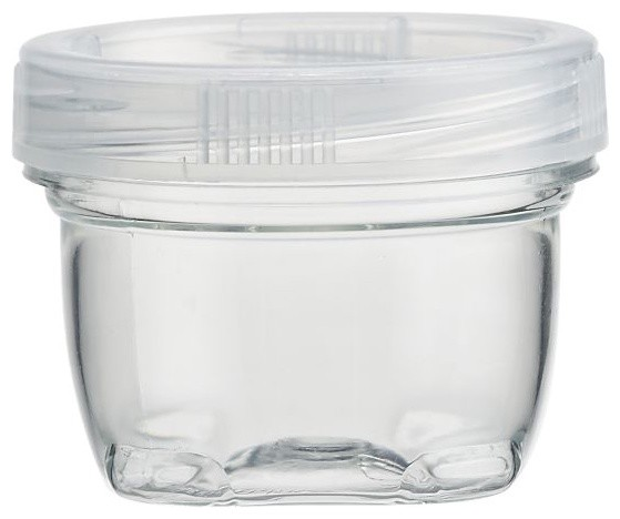Small Lock Up Jar with Lid - Modern - Kitchen Canisters ...