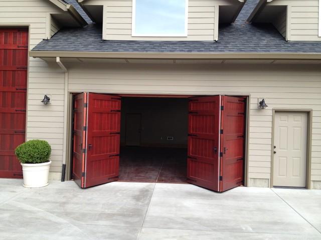 Bi Fold Carriage Doors Portland Or Traditional