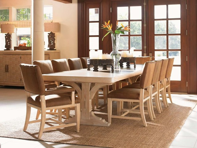 Tommy Bahama Home Road To Canberra Dining Collection Contemporary Dining Sets New York