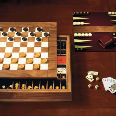 Ultimate Board Game Box - Traditional - Board Games And Card Games - by FRONTGATE