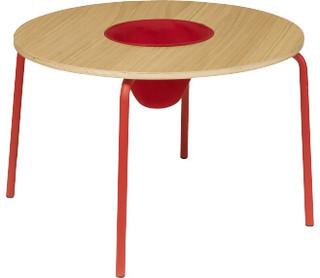hester table ronde pour enfants moderne chaise et table enfant par habitat officiel. Black Bedroom Furniture Sets. Home Design Ideas