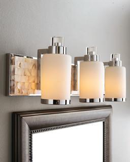Capiz Shell Mosaic Tile Mother Of Pearl Bathroom Vanity