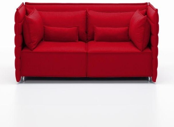 Alcove plume bouroullec 2 sitzer sofa modern sofas for Canape alcove bouroullec