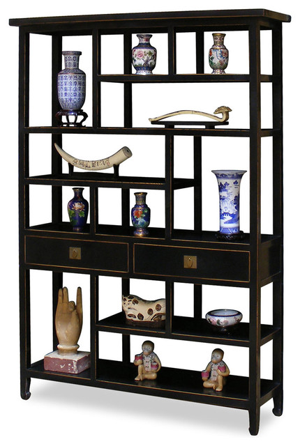 Ming Design Curio Cabinet - Asian - Furniture - by China ...