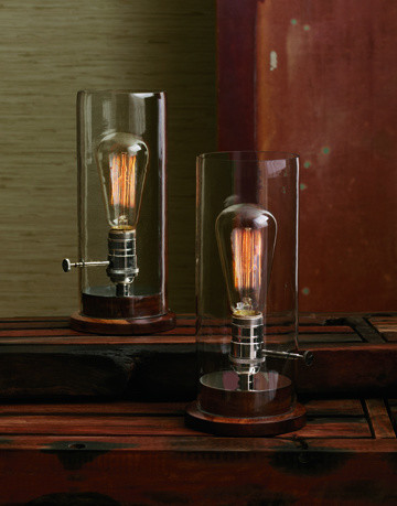 edison table lamp eclectic table lamps by greige. Black Bedroom Furniture Sets. Home Design Ideas