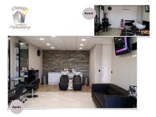 salon de coiffure avant apr s casa relooking bastia. Black Bedroom Furniture Sets. Home Design Ideas