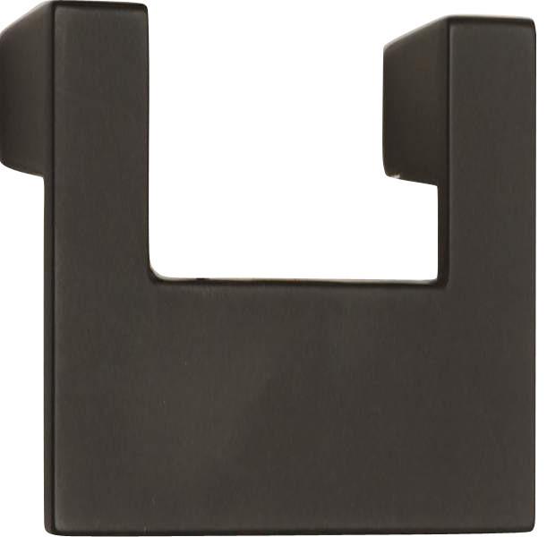 Atlas Homewares A846-Bl U-Turn 3-Inch Single Medium Door Pull, Black - Cabinet And Drawer Handle ...