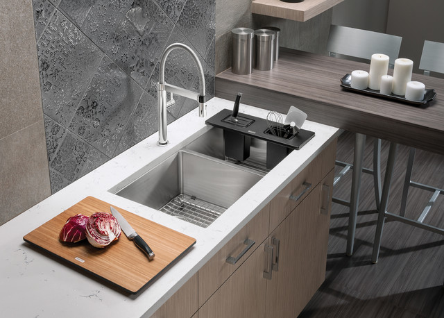 Utility Sink Accessories : BLANCO QUATRUS accessories - Contemporary - Kitchen Sink Accessories ...