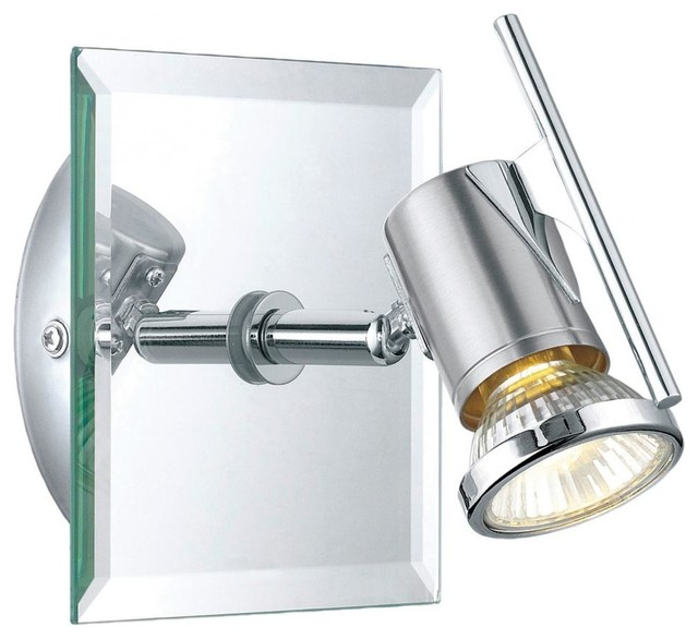 One Light Chrome Track Kit - Contemporary - Wall Sconces - by We Got Lites