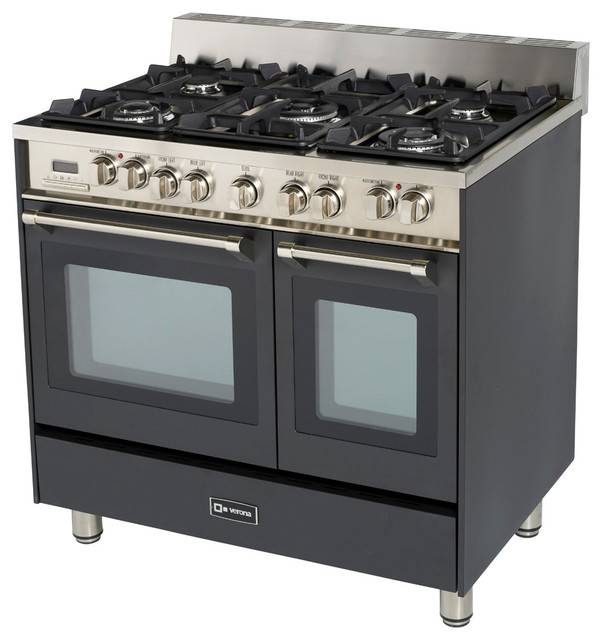 Natural Gas Stove Top And Wall Oven