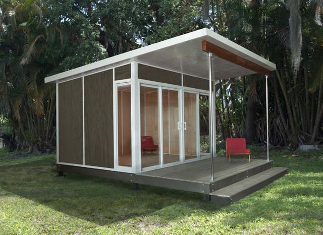 Zip Cabin Modern Prefab Studios By Fever