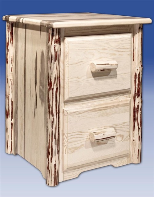 ... With 2 Drawers, Ready To Fi - Rustic - Filing Cabinets - by ShopLadder