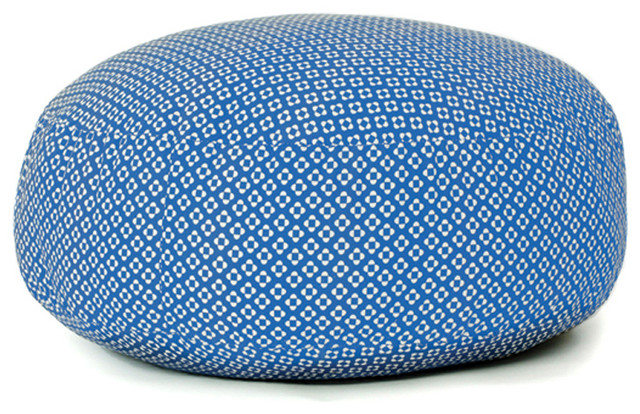 pouf xxl bleu contemporain coussin other metro par. Black Bedroom Furniture Sets. Home Design Ideas