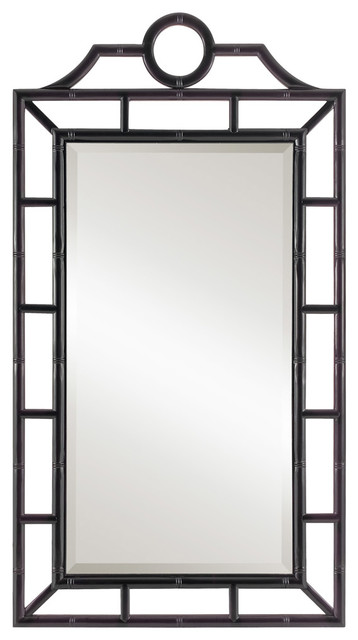 Bungalow 5 Chloe Black Mirror Modern Wall Mirrors By