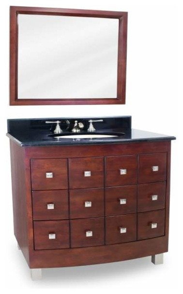 Lyn Design Chelsea Metro 30 X 35 Espresso Vanity Bathroom Vanities And Sink