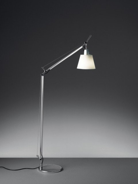 Tolomeo Reading Floor Lamp With Shade Modern Floor