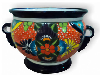 """French Pot with Handles 20""""w x 12""""t - Traditional - Indoor Pots And ..."""