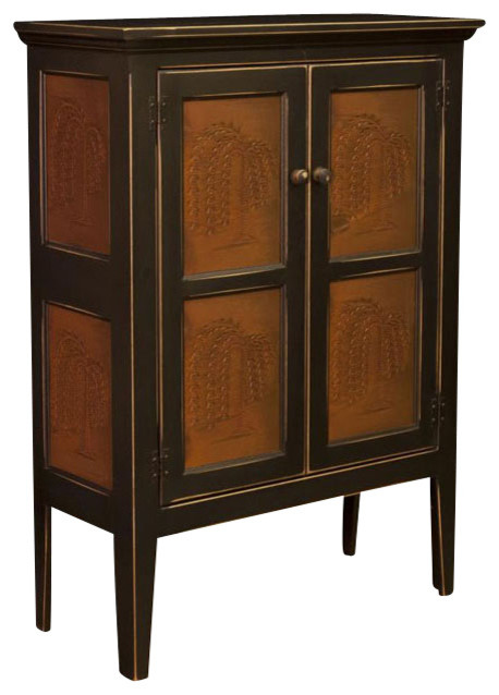 Chelsea Home Jeremiah Pie Safe - Traditional - Pantry Cabinets - by Beyond Stores