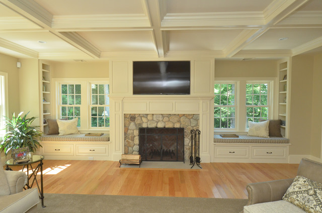 Great Room Addition Transitional Boston By Oco