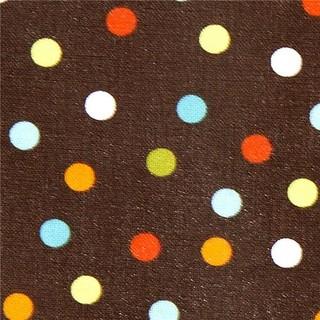 Robert Kaufman premium laminate fabric with polka dots - Fabric