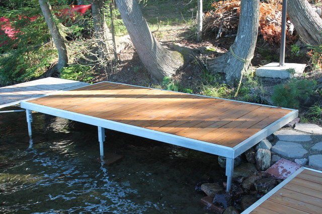 Dock Design Ideas dock with floats and bumper Trout Lake North Bay Dock Design And Installation Beach Style