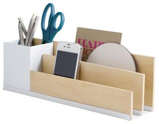 Design ideas portola desk organiser contemporary desk - Modern desk organizers ...
