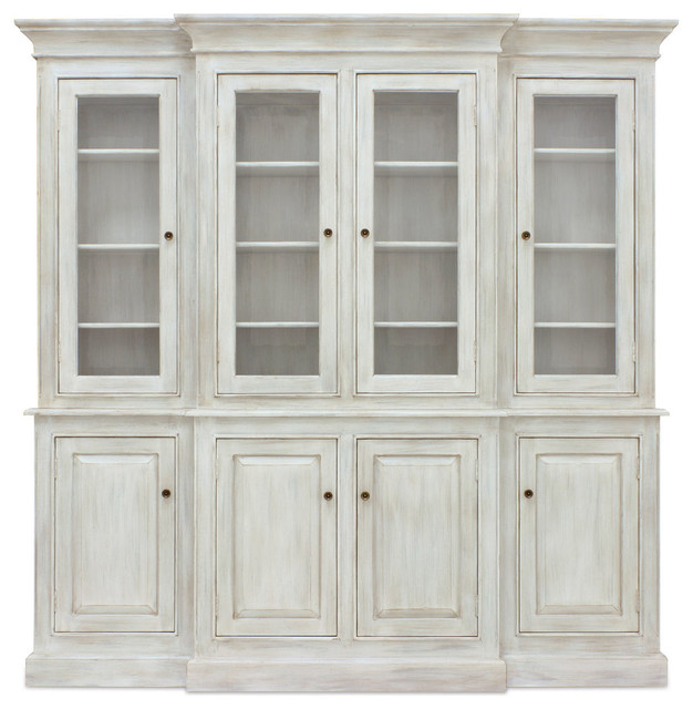 Livingston Hutch - Traditional - China Cabinets And Hutches - Charlotte - by Coach Barn