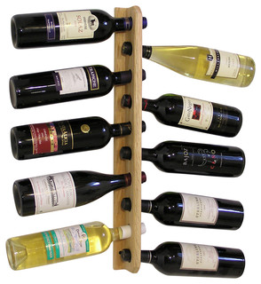 Tree wine rack arts crafts wine racks by wine wall for Arts and crafts wine rack