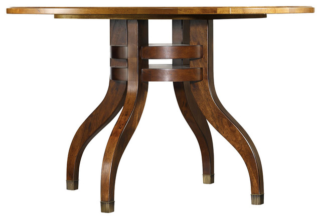 hooker furniture palisade round dining table traditional